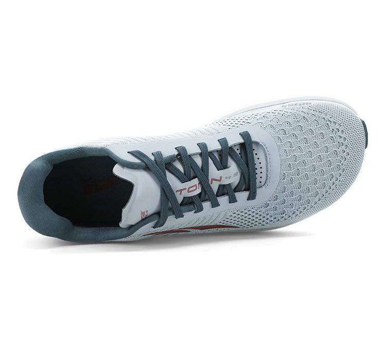 scarpa running altra torin plush 4.5 uomo vista dall'alto