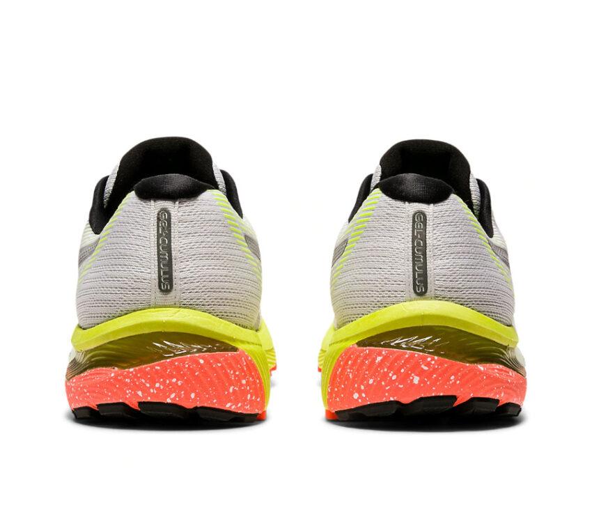 tallone e retro scarpa da running uomo asics gel cumulus 22 lite show riflettente