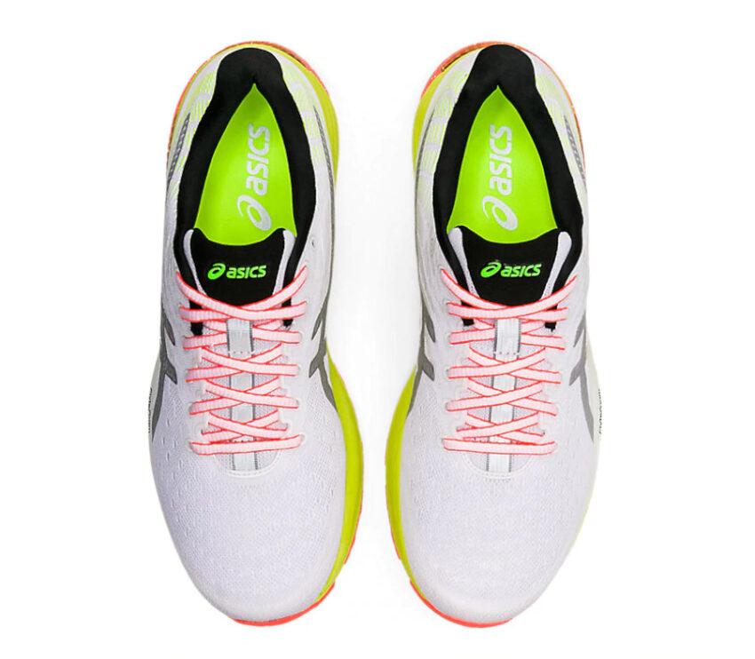 tomaia riflettente scarpa da running uomo asics gel cumulus 22 lite show
