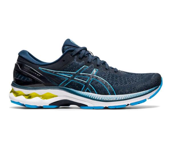 scarpa running uomo asics gel kayano 27 blu