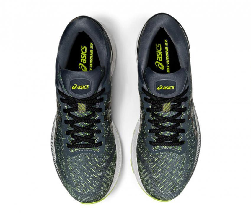 scarpe running stabili da uomo Asics Gel kayano 27 viste da sopra
