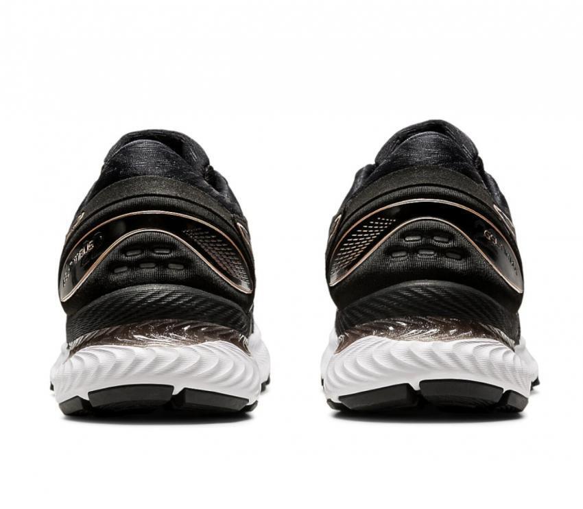 retro scarpe running donna asics gel nimbus 22 knit nere