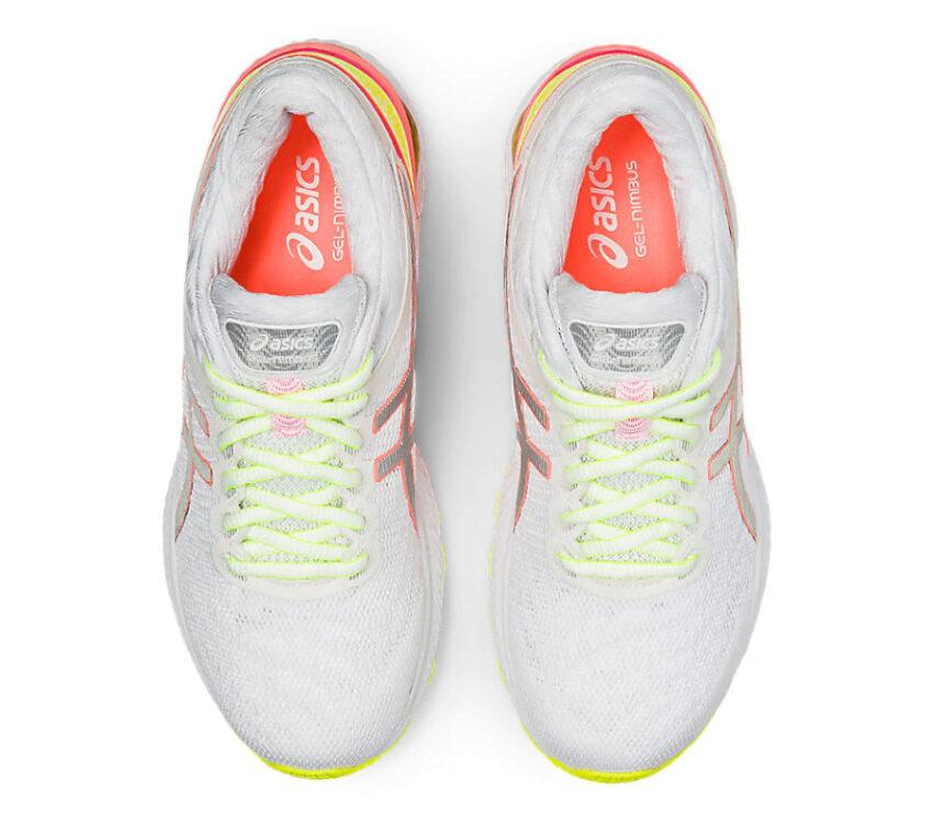 tomaia scarpa da running donnaasics nimbus 22 lite show riflettente
