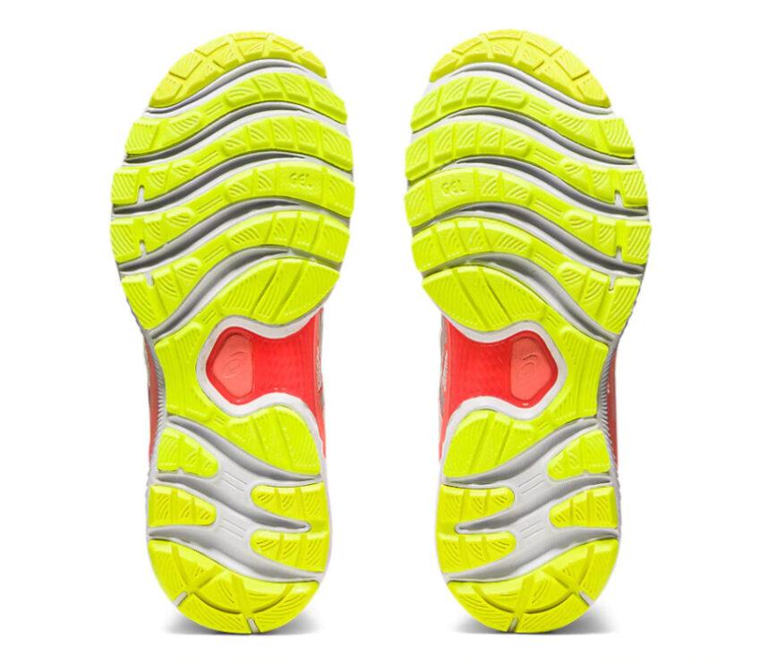 suola scarpa da running donnaasics nimbus 22 lite show riflettente