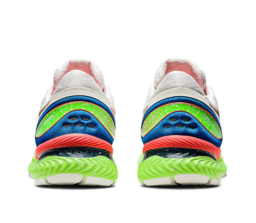 retro scarpa da running uomo asics nimbus 22 lite show riflettente