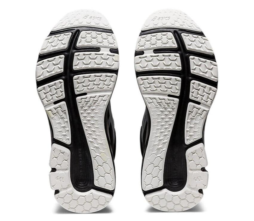 scarpa da running donna con tomaia impermeabile asics gel pulse 12 awl suola
