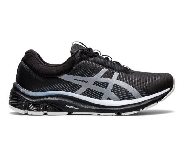 scarpa running invernale donna asics gel pulse 12 nera