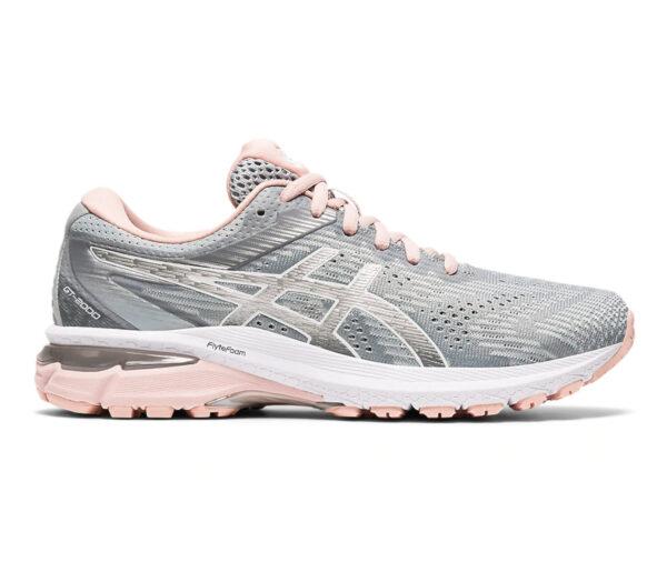 scarpa da running donna asics gt 2000-8 grigia e rosa