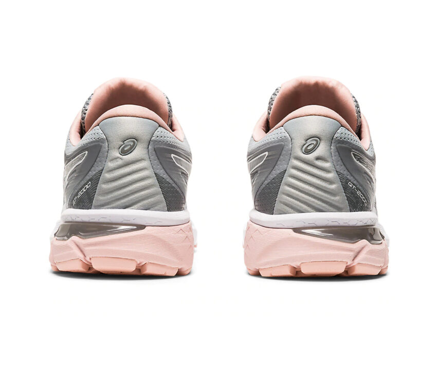 retro scarpe da running donna asics gt 2000-8 grigia e rosa