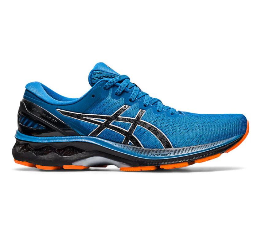 scarpa da running uomo asics kayano 27 blu