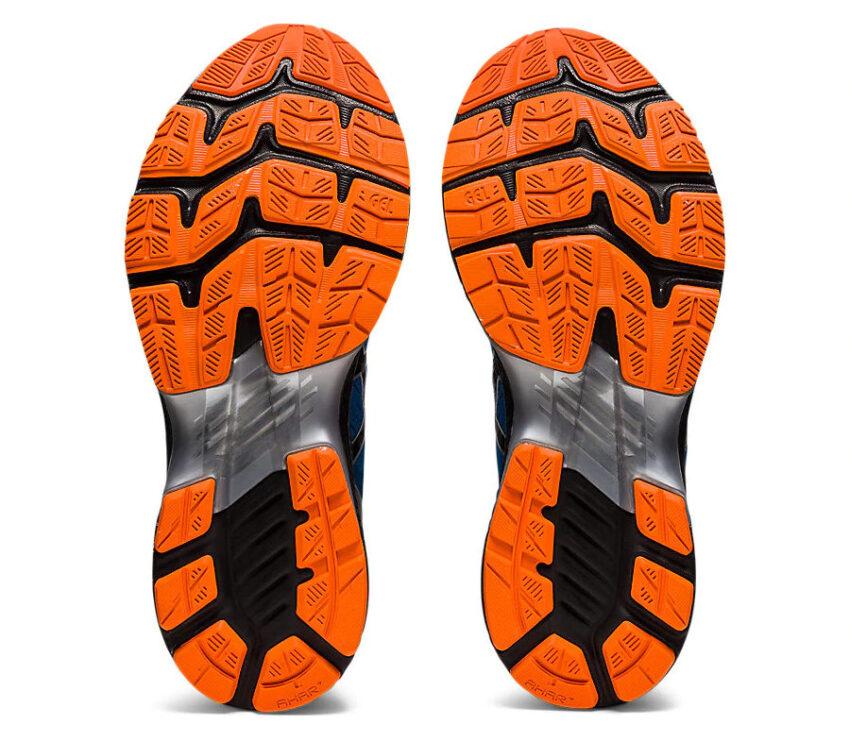 suola scarpa da running uomo asics kayano 27 blu