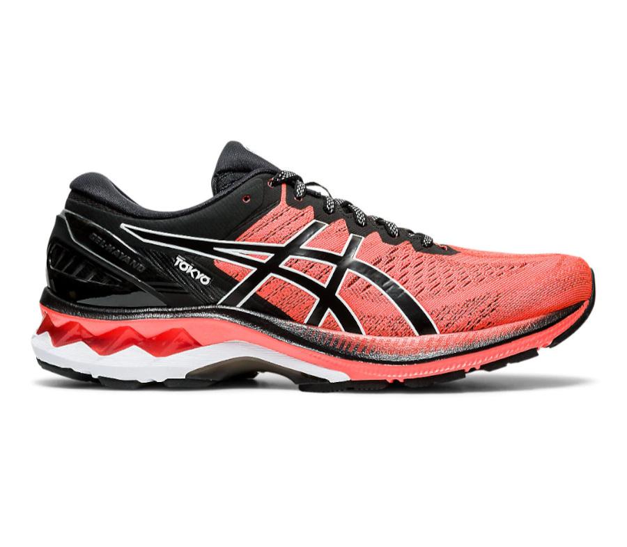scarpa da running uomo asics kayano 27 rossa tokyo