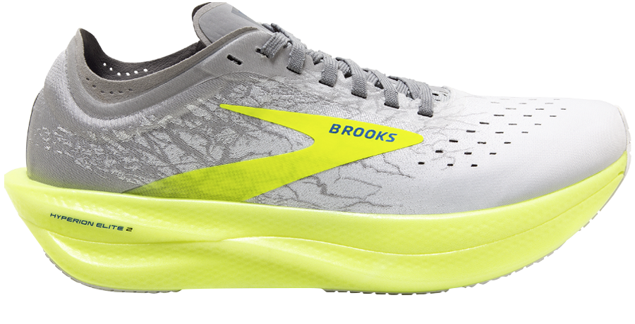 scarpa con piastra in fibra di carbonio brooks elite 2