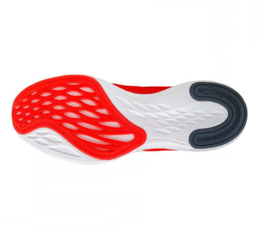 suola scarpe running uomo rosse mizuno wave shadow 4