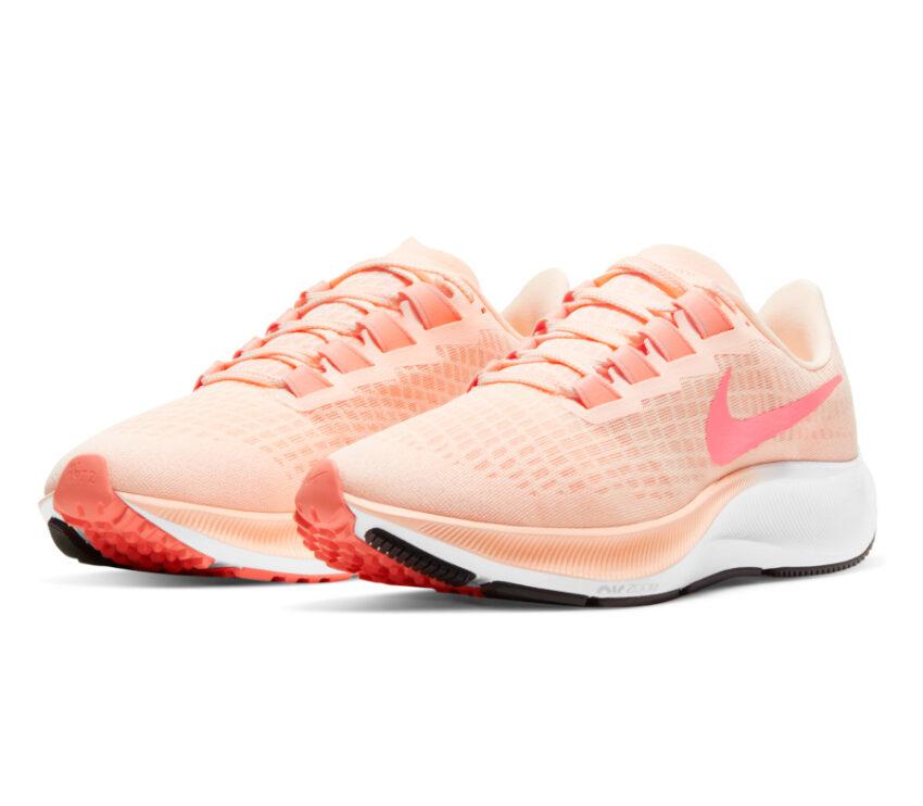coppia scarpa running donna pegasus 37 rosa