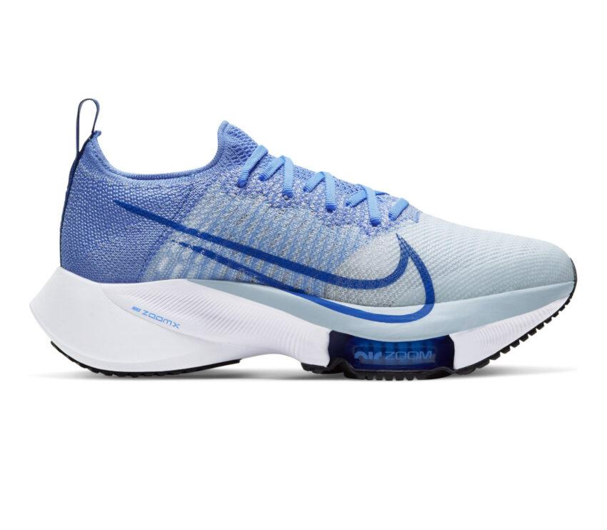 scarpa da running donna nike air zoom tempo next blu
