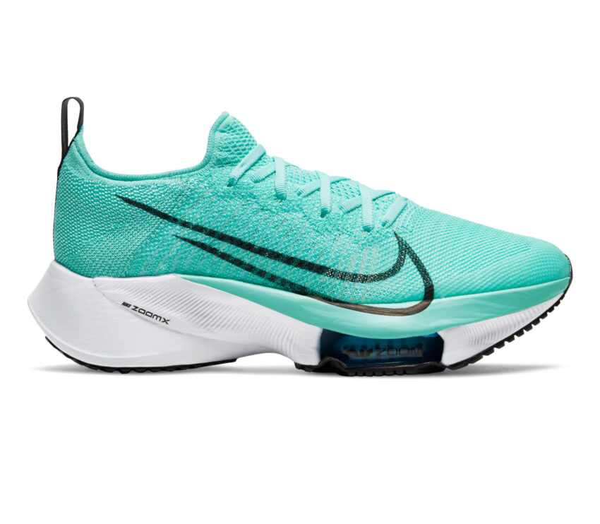 scarpa running donna nike air zoom tempo next fk turchese