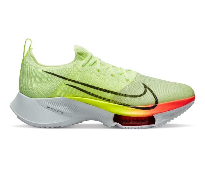 scarpa da running reattiva nike tempo next fluo