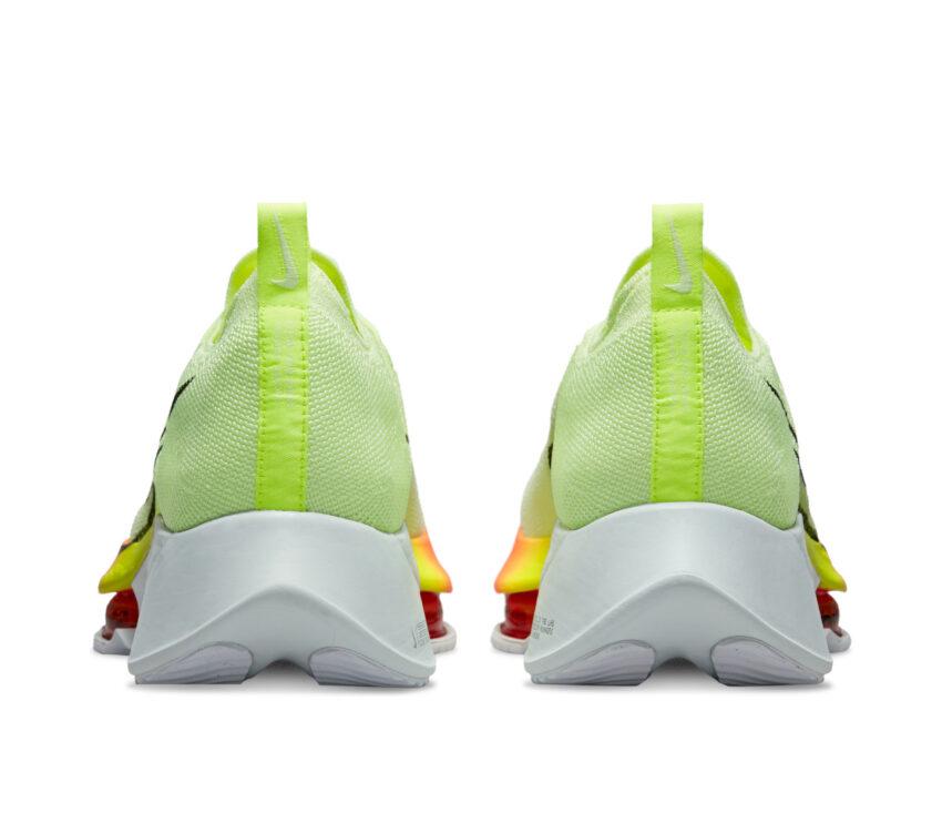 tallone scarpa da running reattiva nike tempo next fluo