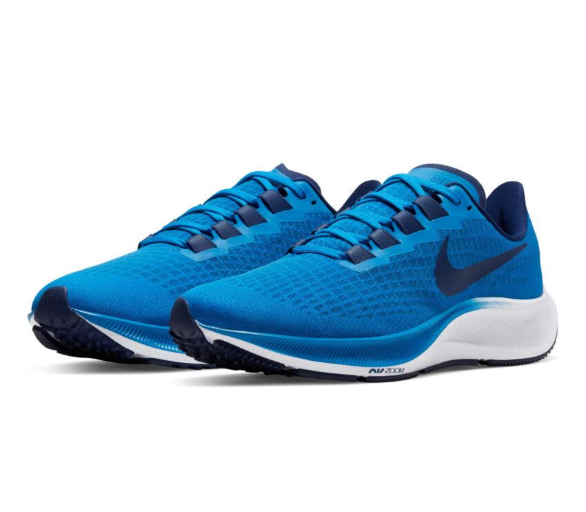 coppia pegasus 37 nike scarpa running uomo blu 400
