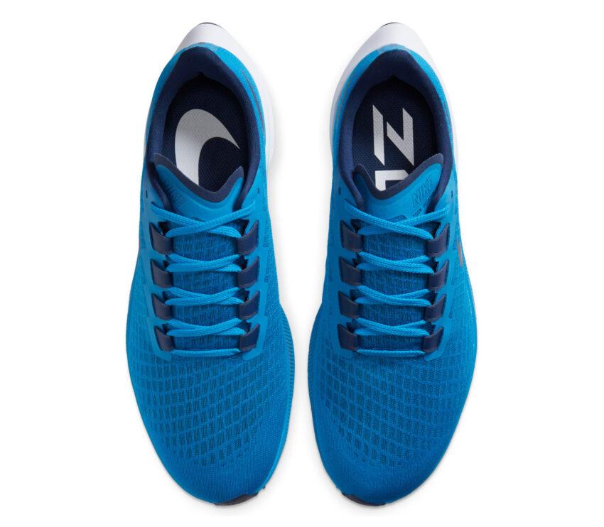 tomaia pegasus 37 nike scarpa running uomo blu 400