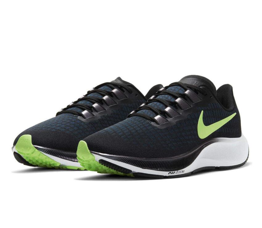 scarpa da running uomo pegasus 37 blu e verde