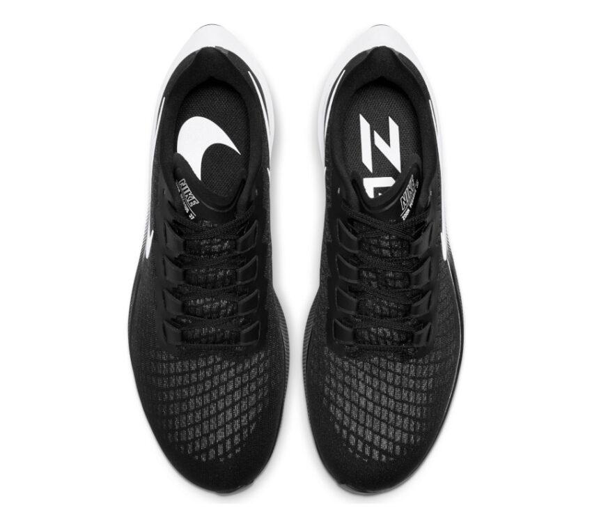 tomaia scarpa da running uomo pegasus 37 nera