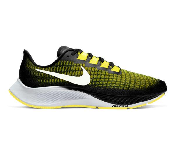 scarpa da running uomo pegasus 37 giallo e nera