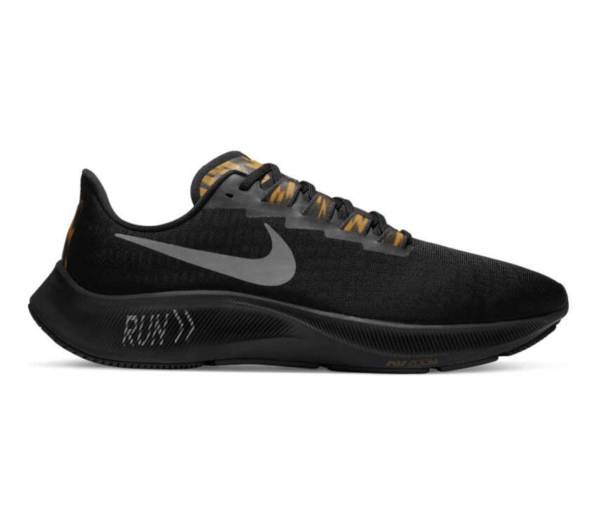scarpa da running uomo pegasus 37 nike nera