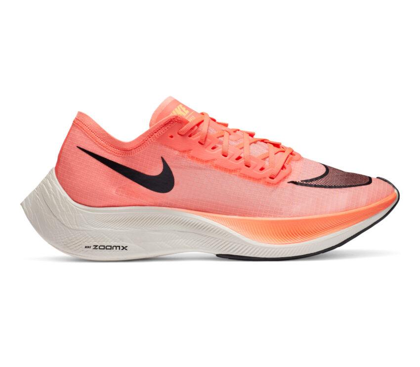 scarpa da running nike zoomx vaporfly next mango 800