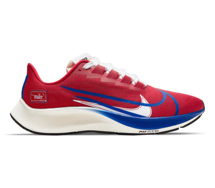 scarpa da running uomo nike pegasus 37 rossa