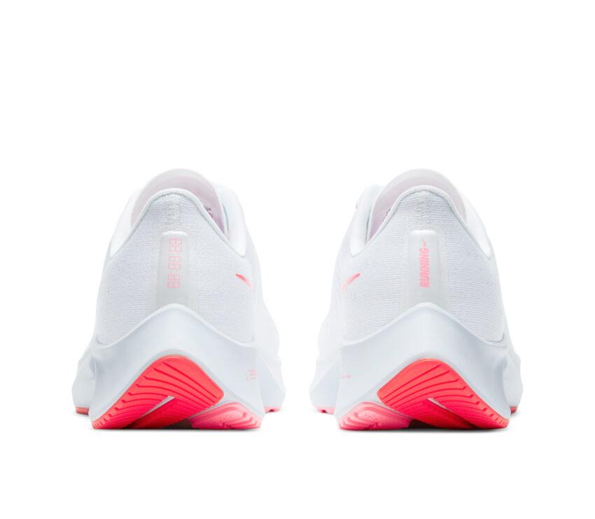 retro scarpa da running donna pegasus 37 bianca e rosa