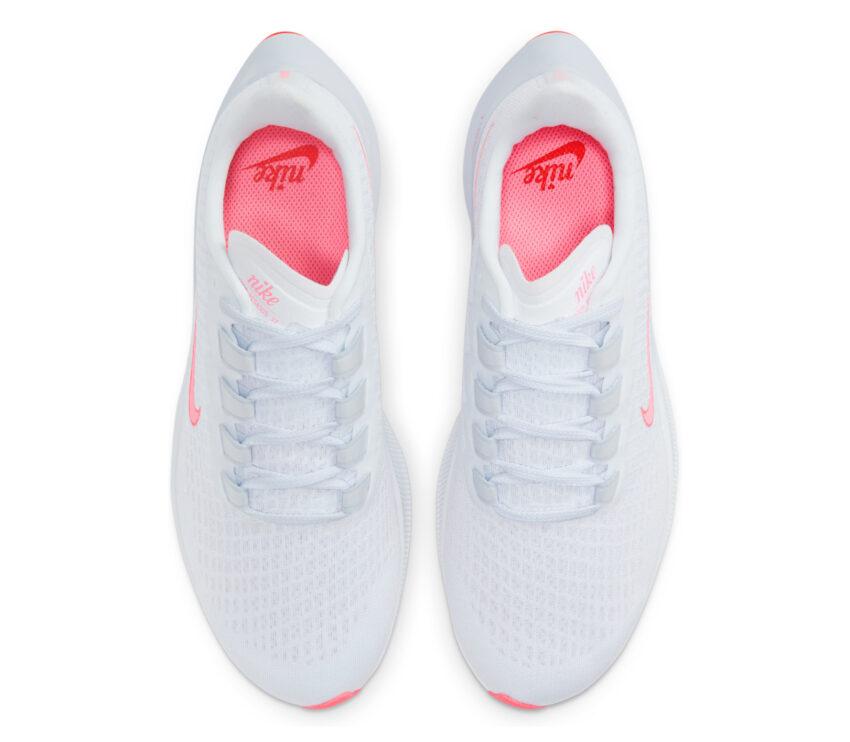 tomaia scarpa da running donna pegasus 37 bianca e rosa