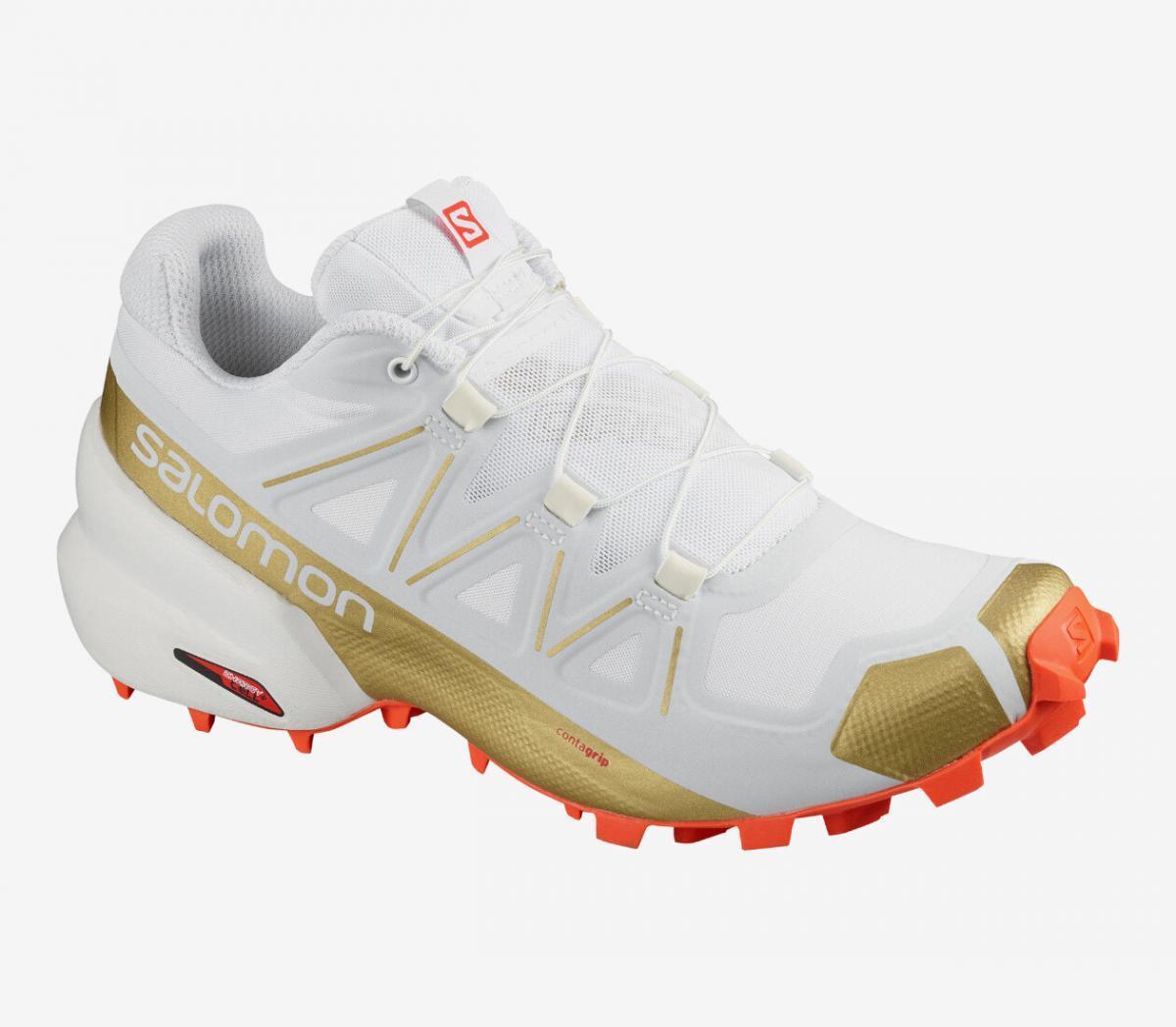 scarpa da trail donna salomon speedcross 5 gts bianca