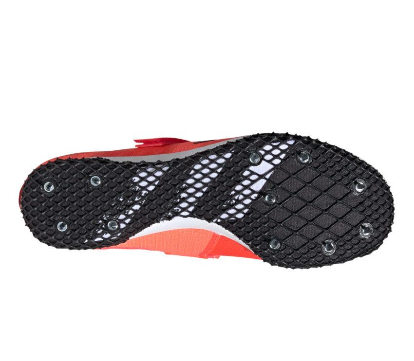 suola e tacchetti scarpa da salto in lungo uomo adidas adizero hj