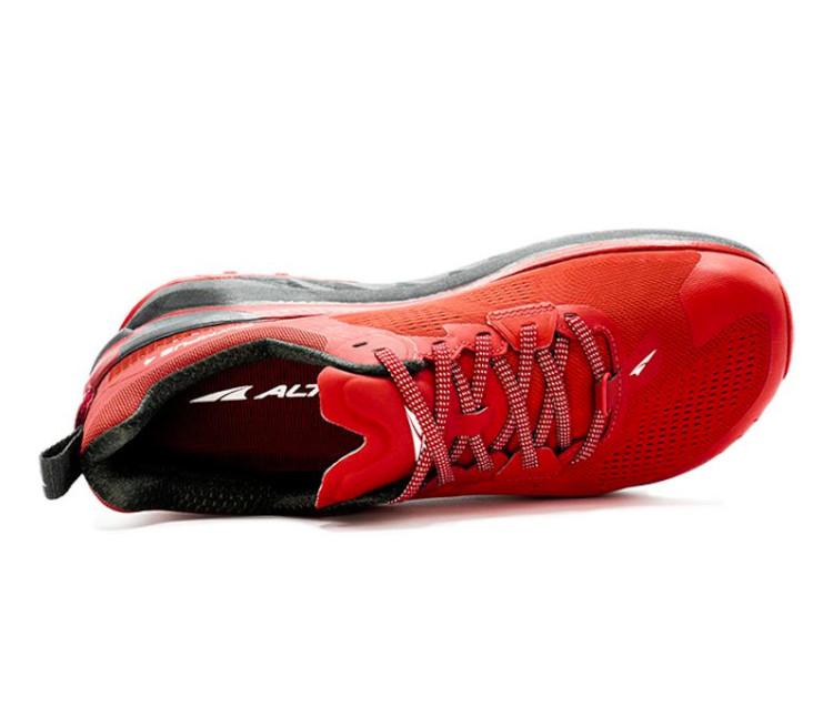 tomaia scarpa da trail running altra olympus 4 rossa