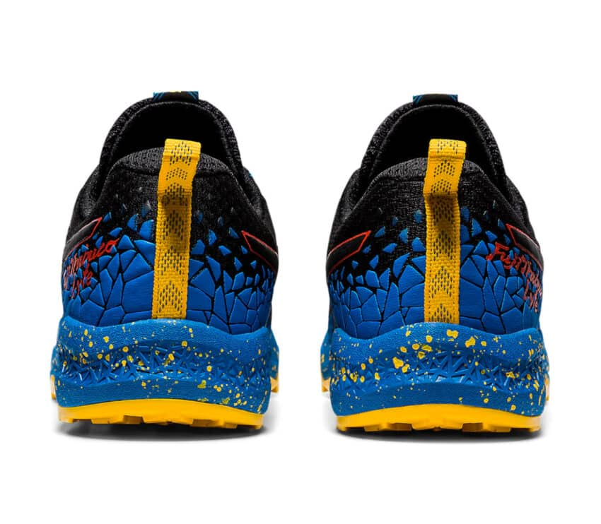 retro scarpe trail running uomo asics fujotrabuco lyte