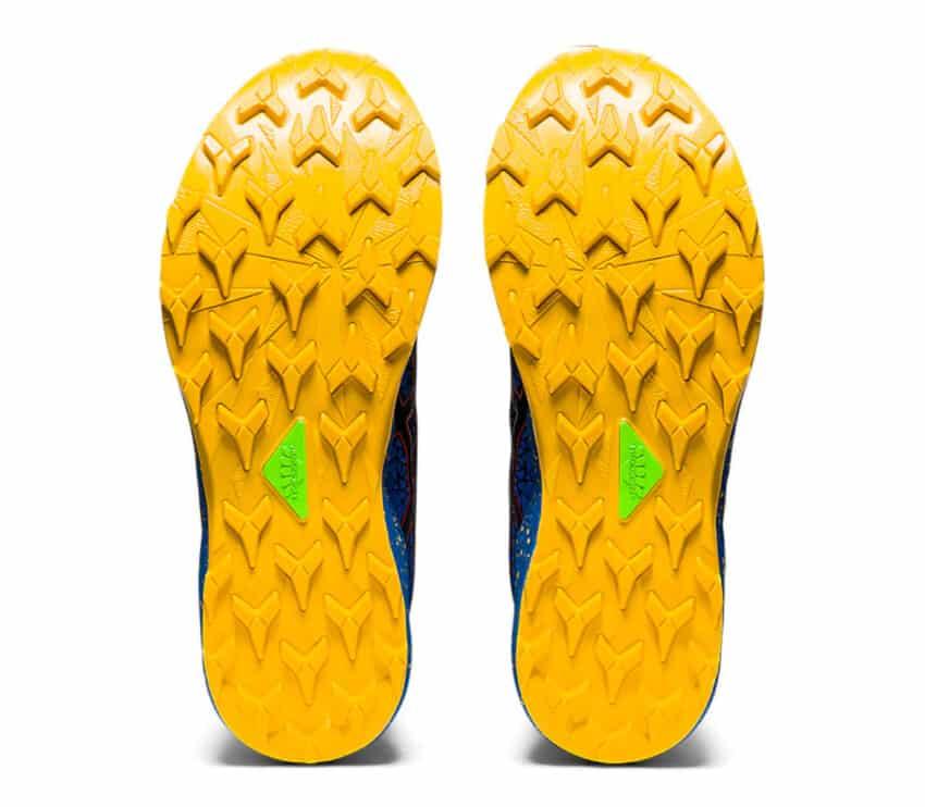 suola scarpe trail running uomo asics fujitrabuco lyte uomo