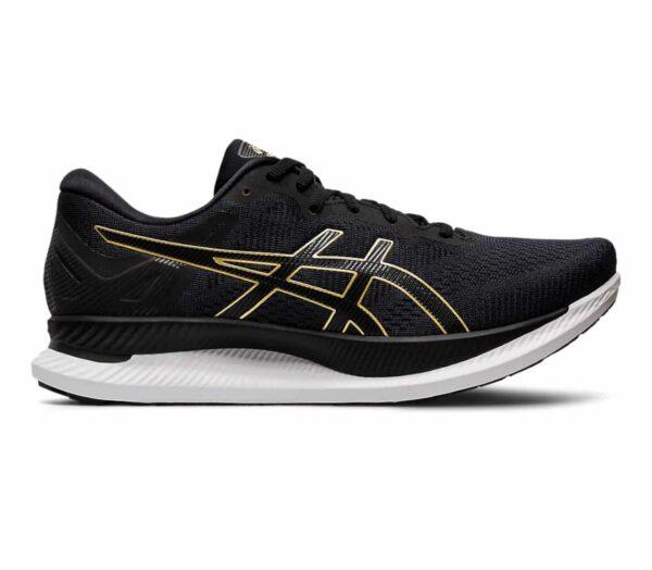 scarpe running uomo asics glideride nere