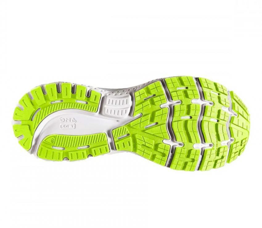 suola scarpa da running calzata larga Brooks Ghost 13 wide nera
