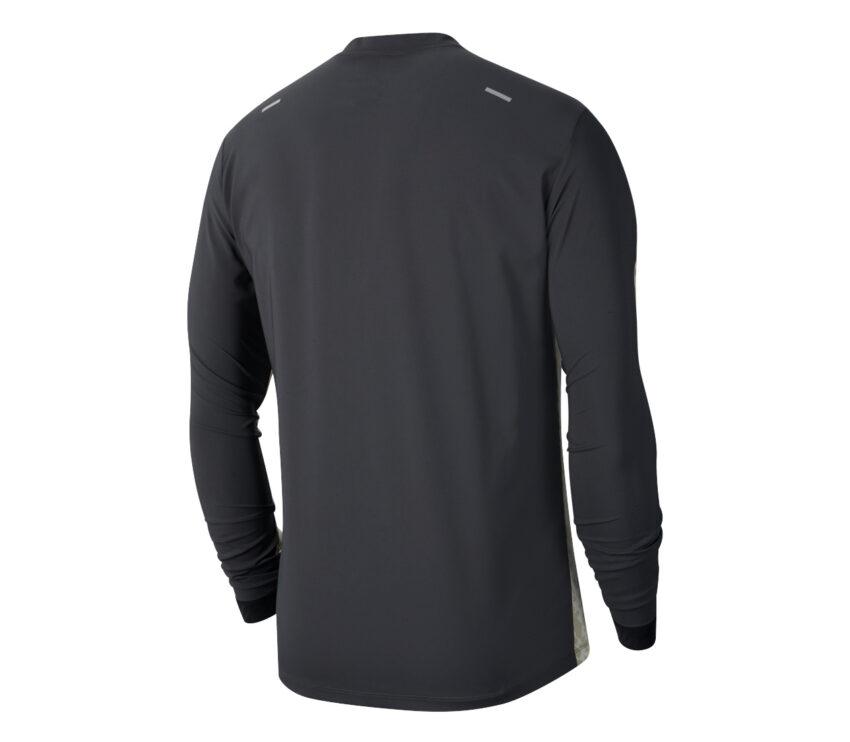 maglia da running uomo nike a maniche lunghe