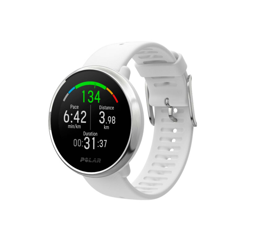 orologio gps polar ignite bianco