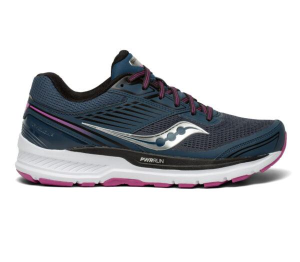 scarpa da running donna saucony echelon 8 blu e viola