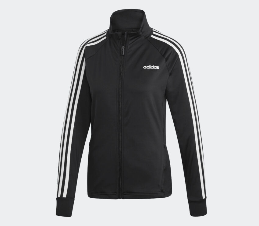 giacca da running con zip adidas designed 2 move