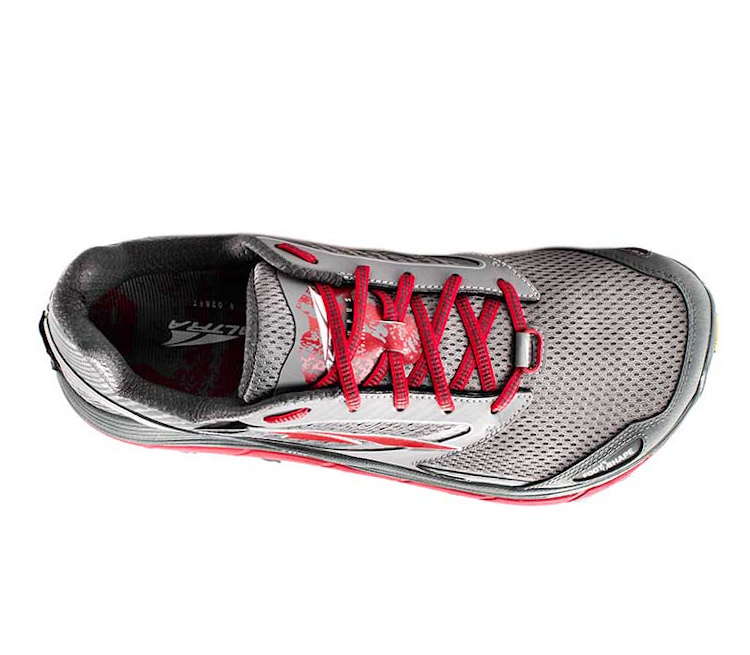 tomaia scarpa da trail running uomo altra olympus 2.5 uomo rossa