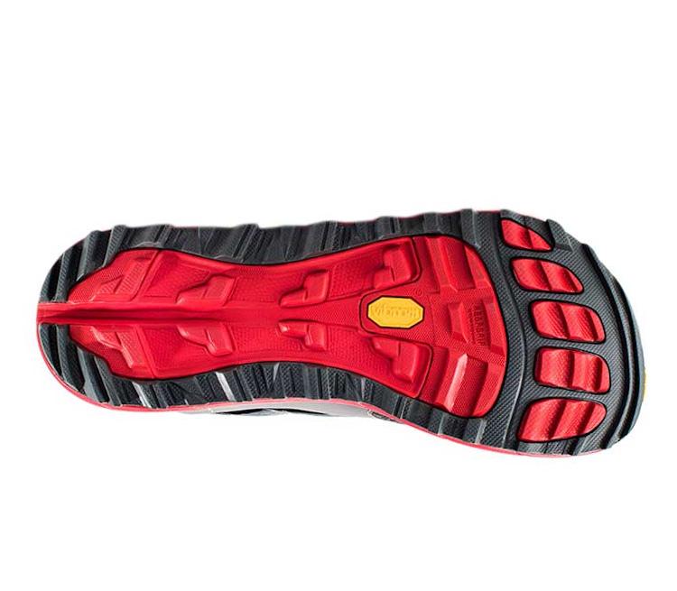 suola scarpa da trail running uomo altra olympus 2.5 uomo rossa