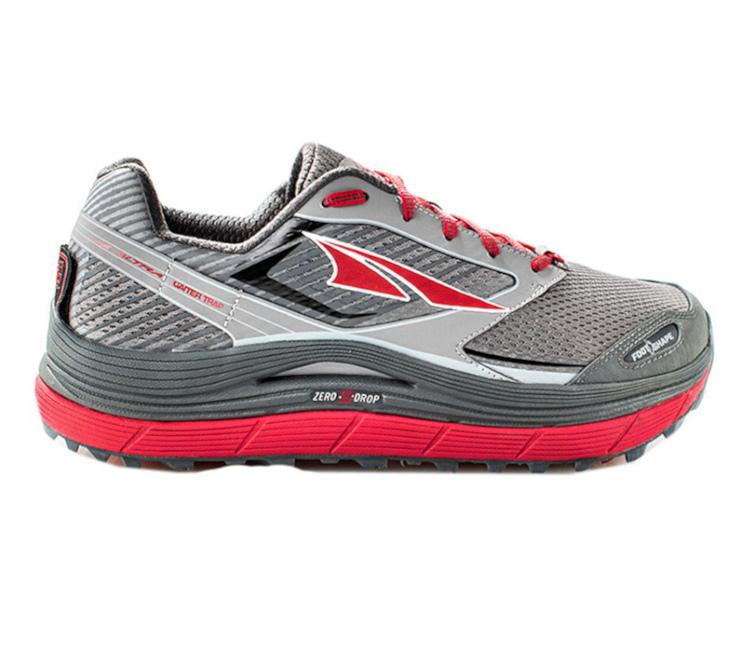 scarpa da trail running uomo altra olympus 2.5 uomo rossa