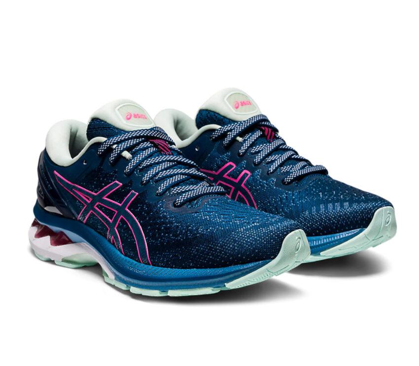coppia scarpe running stabili da donna asics gel kayano 27