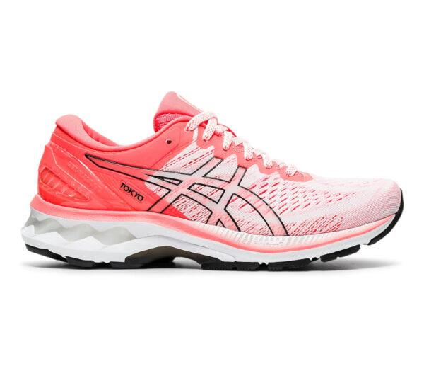 scarpa running donna asics gel kayano 27 rossa tokyo