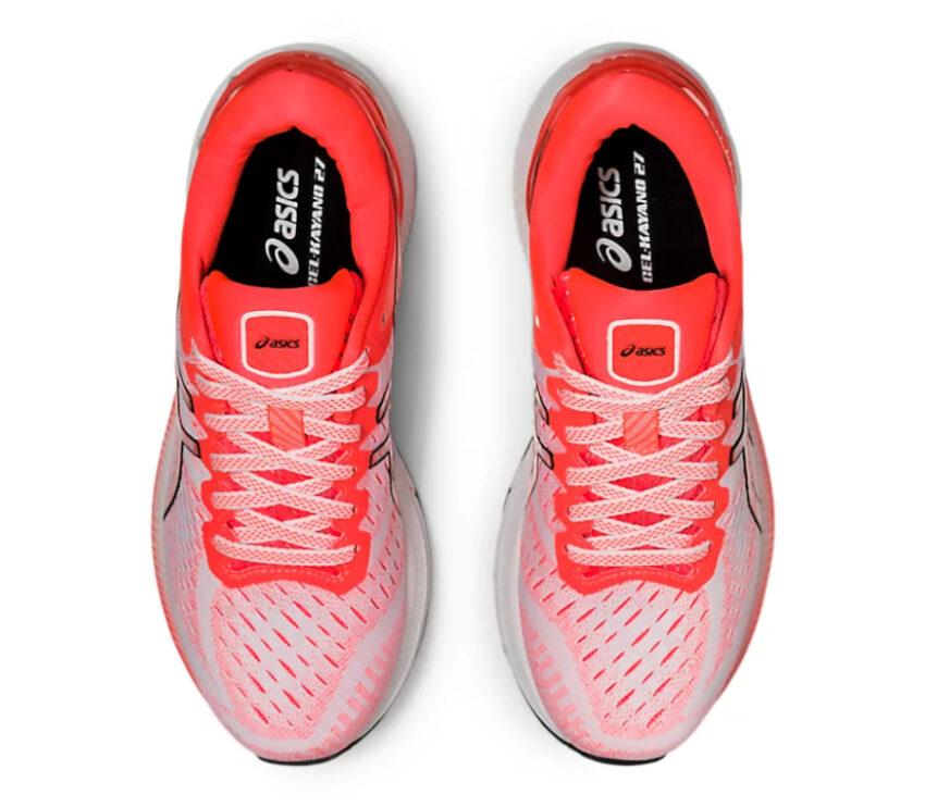 tomaia scarpa running donna asics gel kayano 27 rossa tokyo